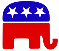 """Republican Party Elephant"" logo"