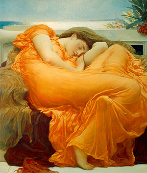Frederick Leighton Flaming June.jpg