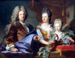 RIGAUD Hyacinthe Jean le Juge and His Family 1699.jpg